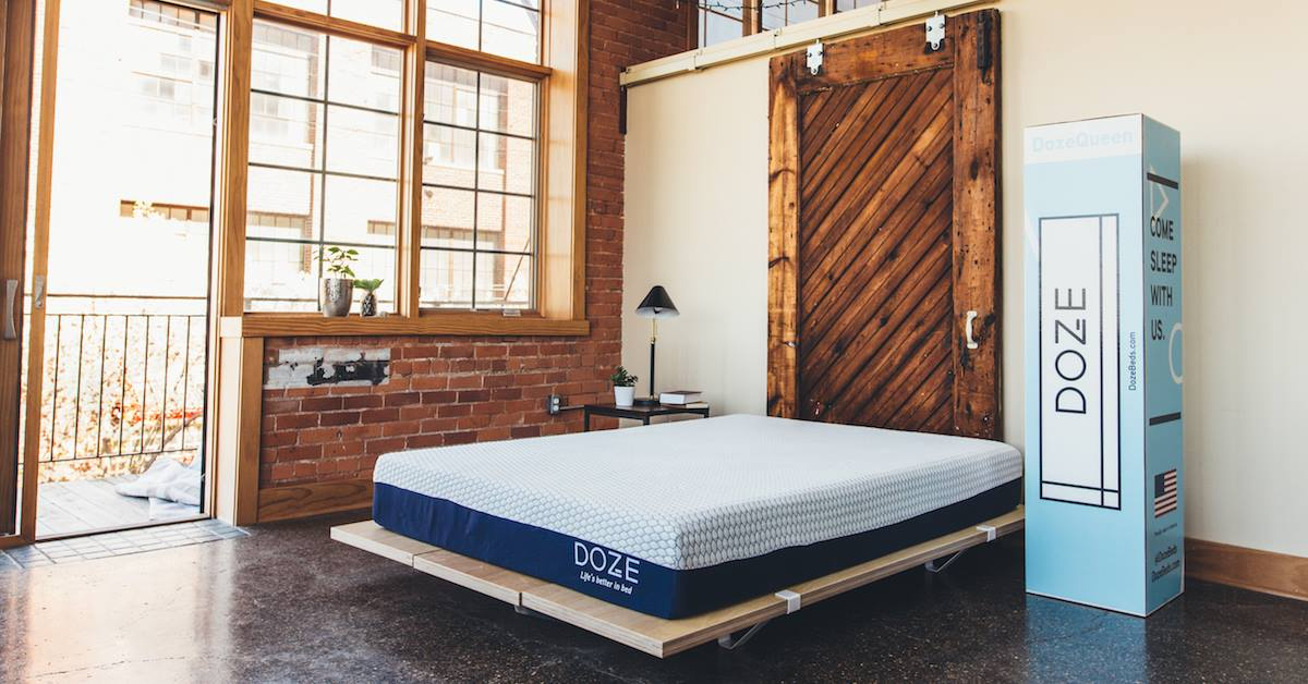 doze mattress reviews our honest opinion thoughts coupon. Black Bedroom Furniture Sets. Home Design Ideas